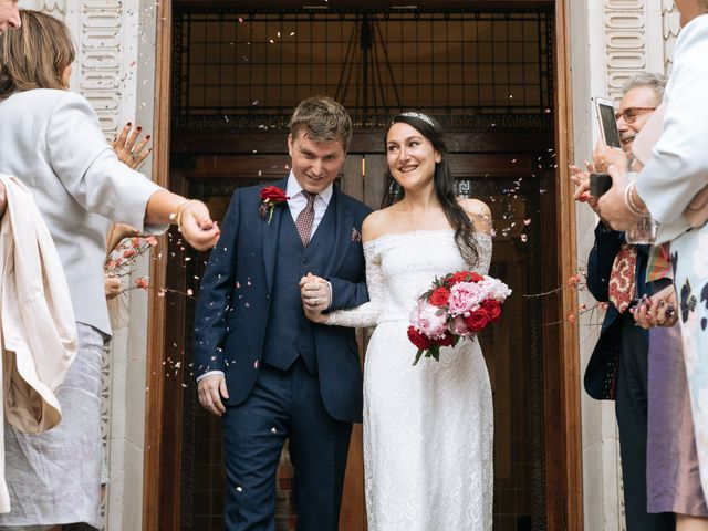 Gabrielle and Charlie's Wedding in London - West, West London 11