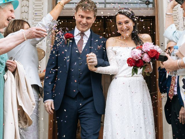 Gabrielle and Charlie's Wedding in London - West, West London 12