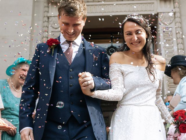 Gabrielle and Charlie's Wedding in London - West, West London 1