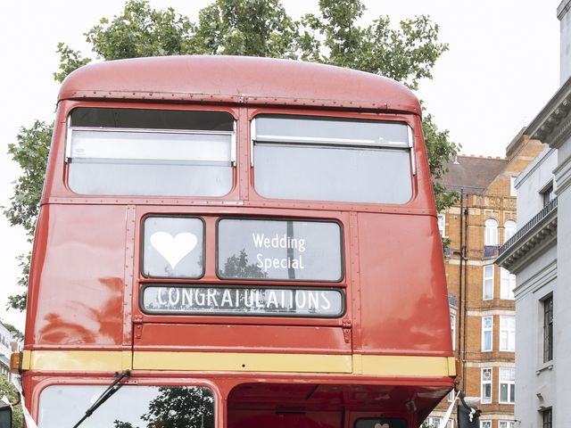 Gabrielle and Charlie's Wedding in London - West, West London 15