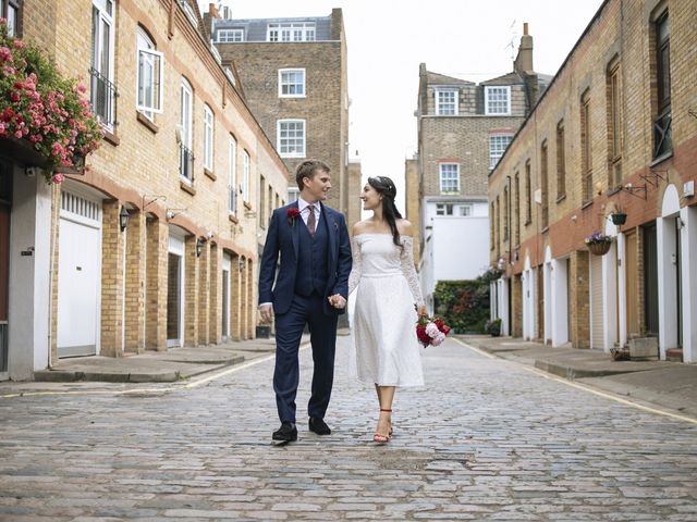 Gabrielle and Charlie's Wedding in London - West, West London 18