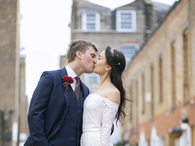 Gabrielle and Charlie's Wedding in London - West, West London 19
