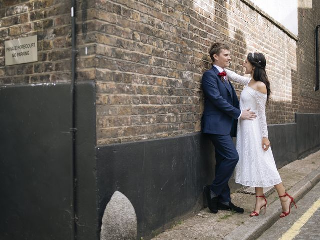 Gabrielle and Charlie's Wedding in London - West, West London 23