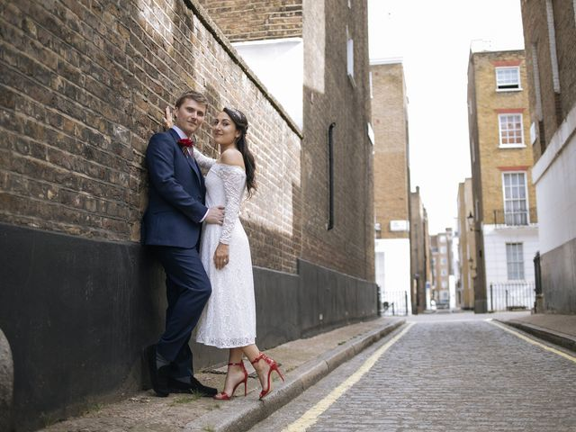 Gabrielle and Charlie's Wedding in London - West, West London 25