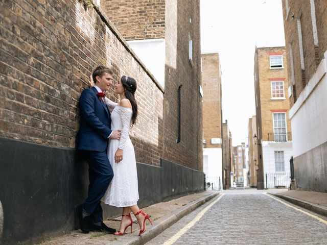Gabrielle and Charlie's Wedding in London - West, West London 26