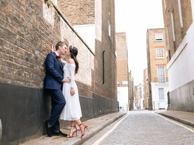 Gabrielle and Charlie's Wedding in London - West, West London 27