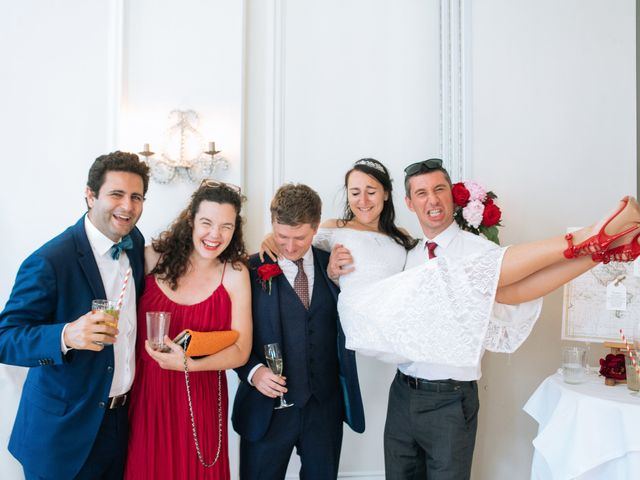 Gabrielle and Charlie's Wedding in London - West, West London 32