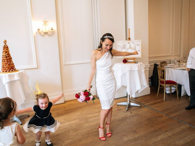 Gabrielle and Charlie's Wedding in London - West, West London 38