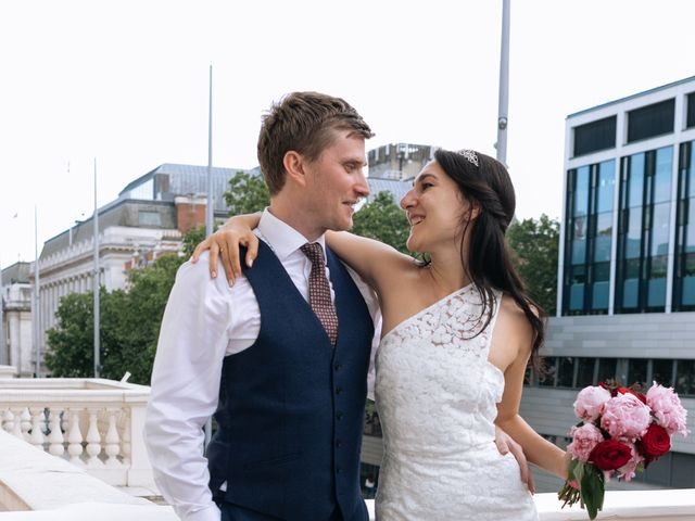 Gabrielle and Charlie's Wedding in London - West, West London 41