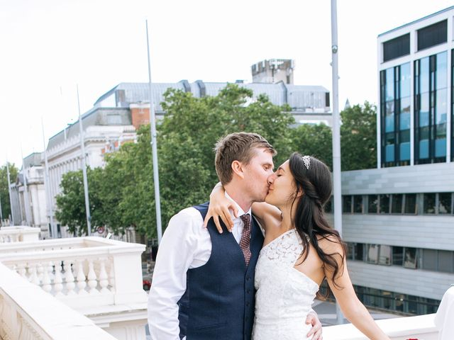 Gabrielle and Charlie's Wedding in London - West, West London 42