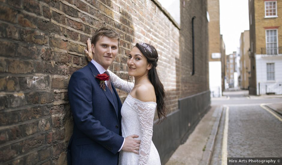 Gabrielle and Charlie's Wedding in London - West, West London