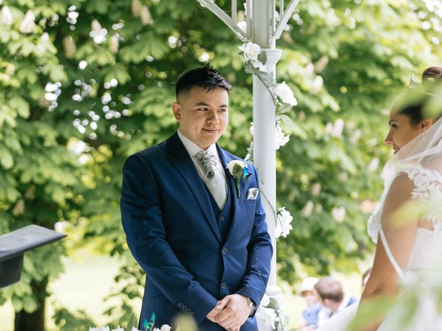 Chanelle and Que's Wedding in St Albans, Hertfordshire 15