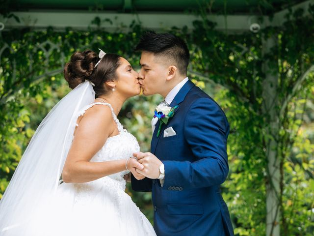 Chanelle and Que's Wedding in St Albans, Hertfordshire 27