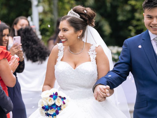 Chanelle and Que's Wedding in St Albans, Hertfordshire 30