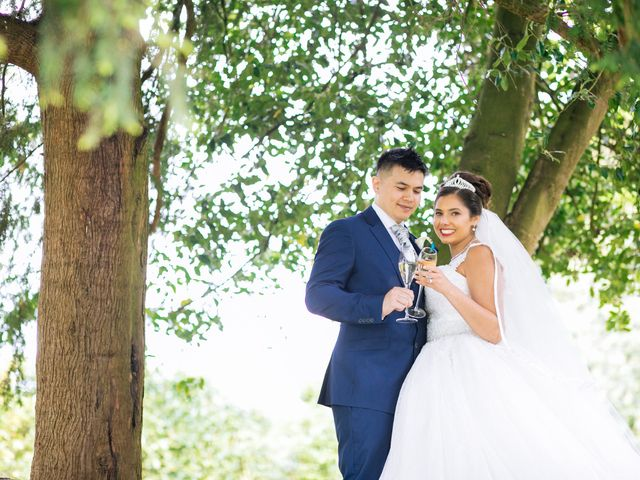 Chanelle and Que's Wedding in St Albans, Hertfordshire 1