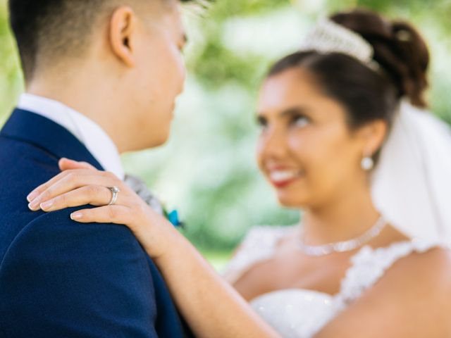 Chanelle and Que's Wedding in St Albans, Hertfordshire 32