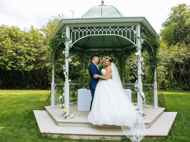Chanelle and Que's Wedding in St Albans, Hertfordshire 34