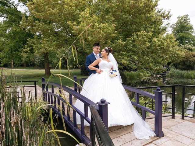 Chanelle and Que's Wedding in St Albans, Hertfordshire 38