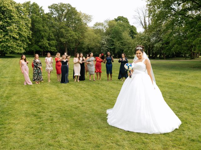 Chanelle and Que's Wedding in St Albans, Hertfordshire 45