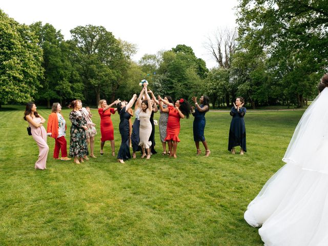 Chanelle and Que's Wedding in St Albans, Hertfordshire 46