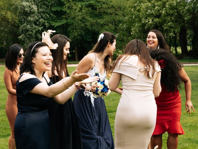 Chanelle and Que's Wedding in St Albans, Hertfordshire 47