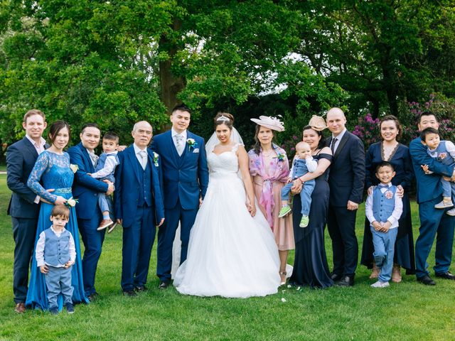 Chanelle and Que's Wedding in St Albans, Hertfordshire 49
