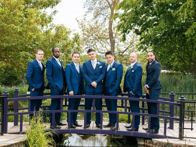 Chanelle and Que's Wedding in St Albans, Hertfordshire 51