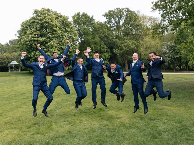 Chanelle and Que's Wedding in St Albans, Hertfordshire 53