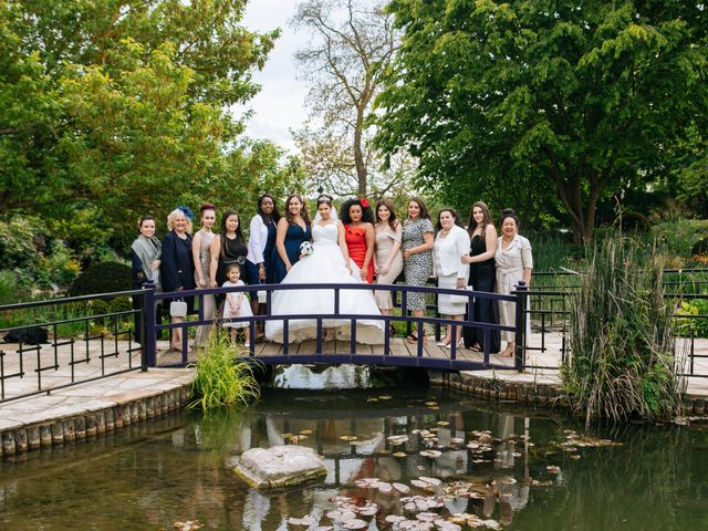 Chanelle and Que's Wedding in St Albans, Hertfordshire 55