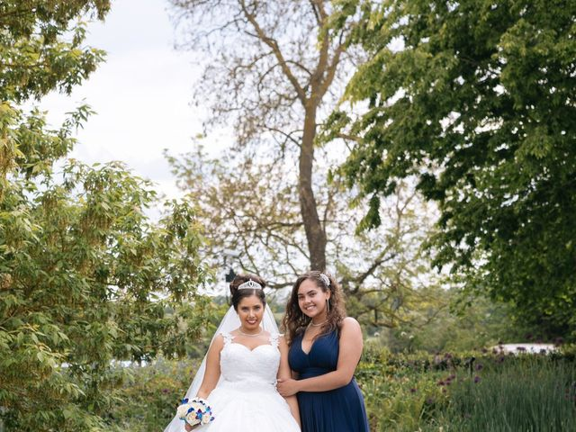 Chanelle and Que's Wedding in St Albans, Hertfordshire 56