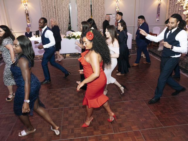Chanelle and Que's Wedding in St Albans, Hertfordshire 61