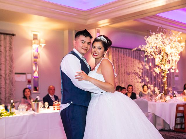 Chanelle and Que's Wedding in St Albans, Hertfordshire 77