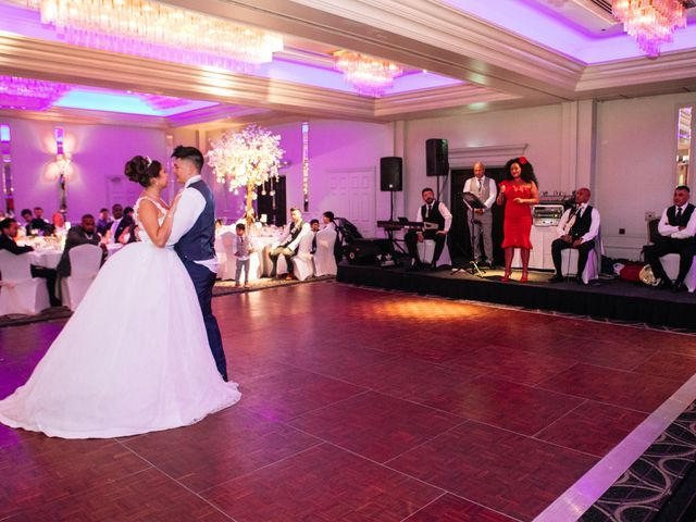 Chanelle and Que's Wedding in St Albans, Hertfordshire 78