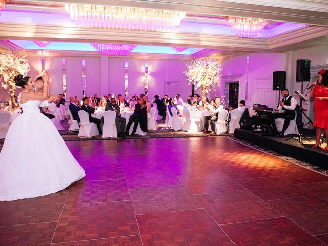 Chanelle and Que's Wedding in St Albans, Hertfordshire 79