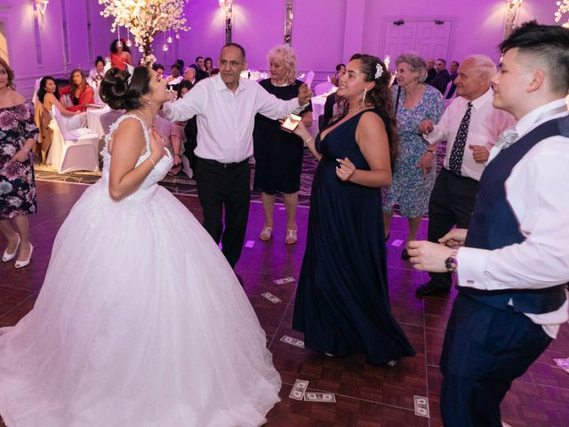 Chanelle and Que's Wedding in St Albans, Hertfordshire 80