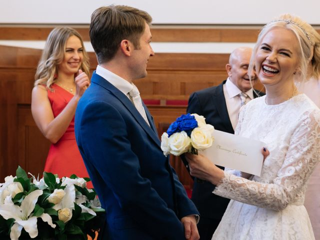 Evgeny and Veronika's Wedding in Kingston, Surrey 37
