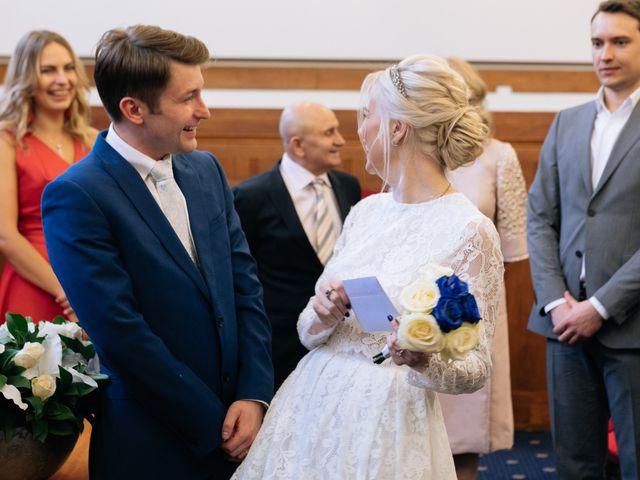 Evgeny and Veronika's Wedding in Kingston, Surrey 38