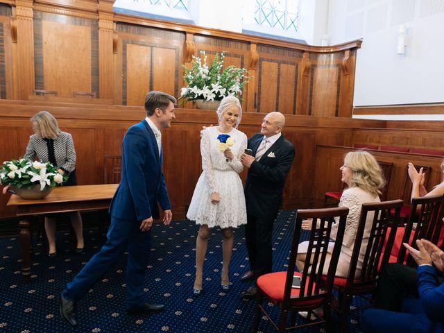 Evgeny and Veronika's Wedding in Kingston, Surrey 42