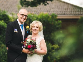 Caron & Ric's wedding