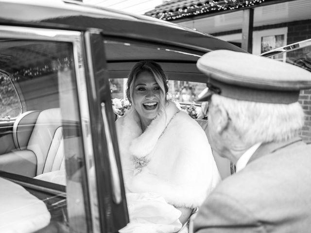Kieran and Lauren's Wedding in Hatfield, Hertfordshire 10