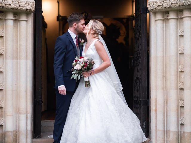 Kieran and Lauren's Wedding in Hatfield, Hertfordshire 13