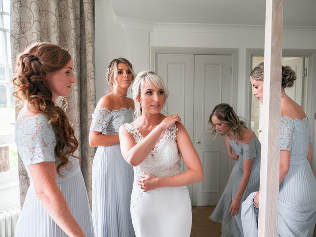 Karl and Laura's Wedding in Buckingham, Buckinghamshire 3