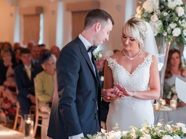 Karl and Laura's Wedding in Buckingham, Buckinghamshire 13