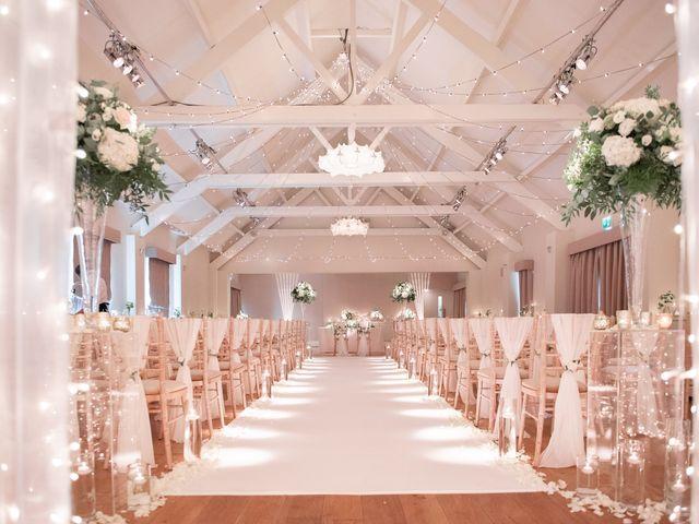 Karl and Laura's Wedding in Buckingham, Buckinghamshire 1