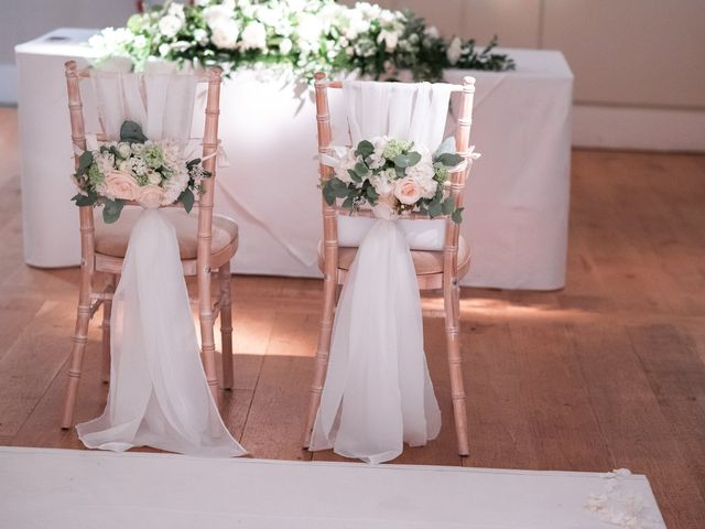 Karl and Laura's Wedding in Buckingham, Buckinghamshire 15