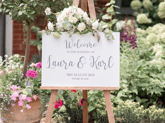 Karl and Laura's Wedding in Buckingham, Buckinghamshire 18