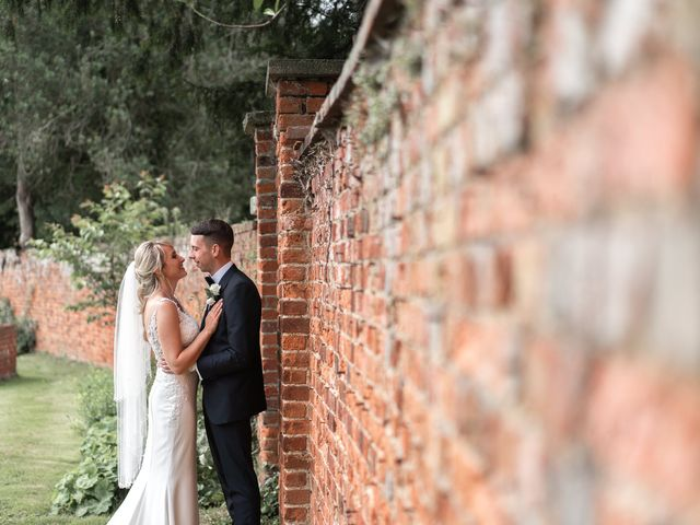 Karl and Laura's Wedding in Buckingham, Buckinghamshire 19