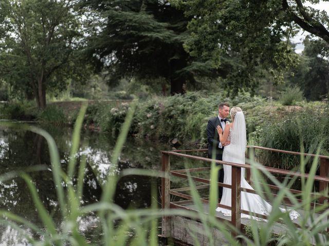 Karl and Laura's Wedding in Buckingham, Buckinghamshire 20