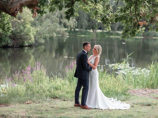 Karl and Laura's Wedding in Buckingham, Buckinghamshire 21