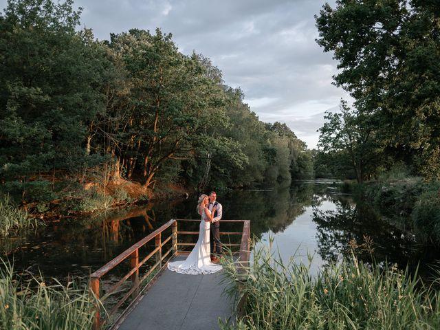 Karl and Laura's Wedding in Buckingham, Buckinghamshire 24